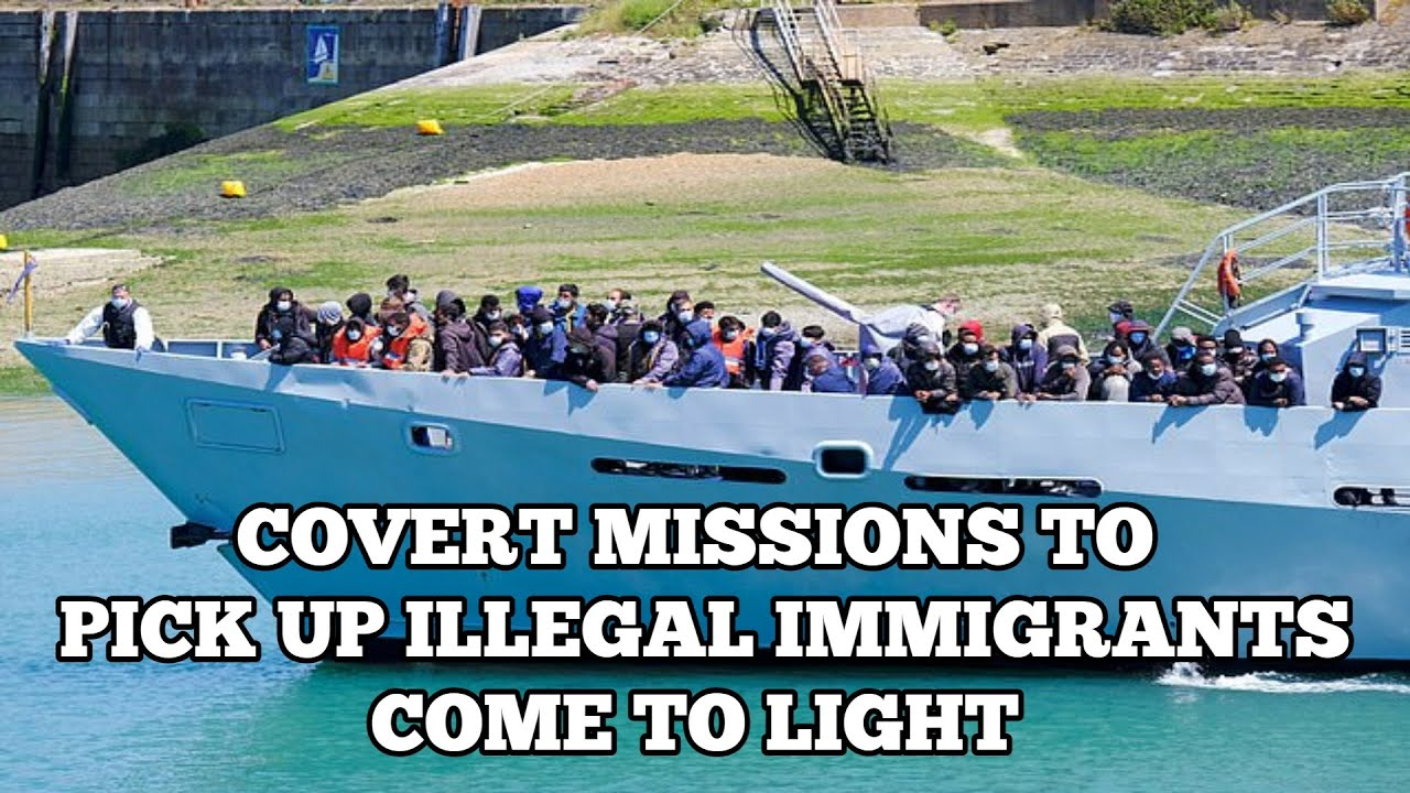 Border Force Exposed For Running Covert & Dangerous Illegal Immigrant Pick Up Mission In The Channel