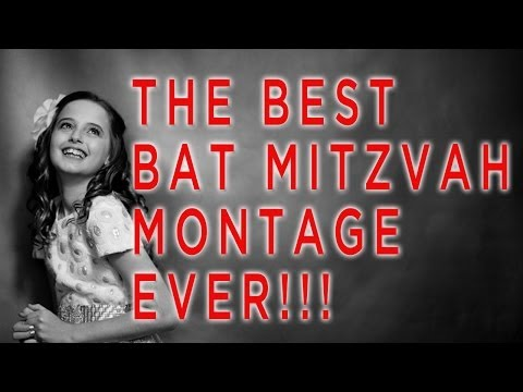 "The Best Bat Mitzvah Montage Ever (Parody of Best Song Ever Video and Icona Pop ""I love it"" Song)"