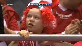 Handball Euro 2016  Denmark - Russia (Гандбол !  Дания Россия ! Евро2016 )