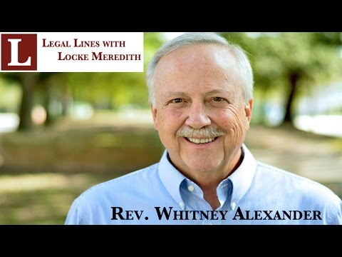 Whitney Alexander discusses Christians in the Middle East on Legal Lines
