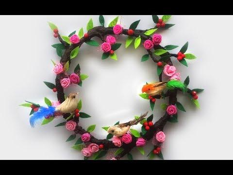 New Diy Christmas Wreath Using Newspaper Newspaper Craft Idea To