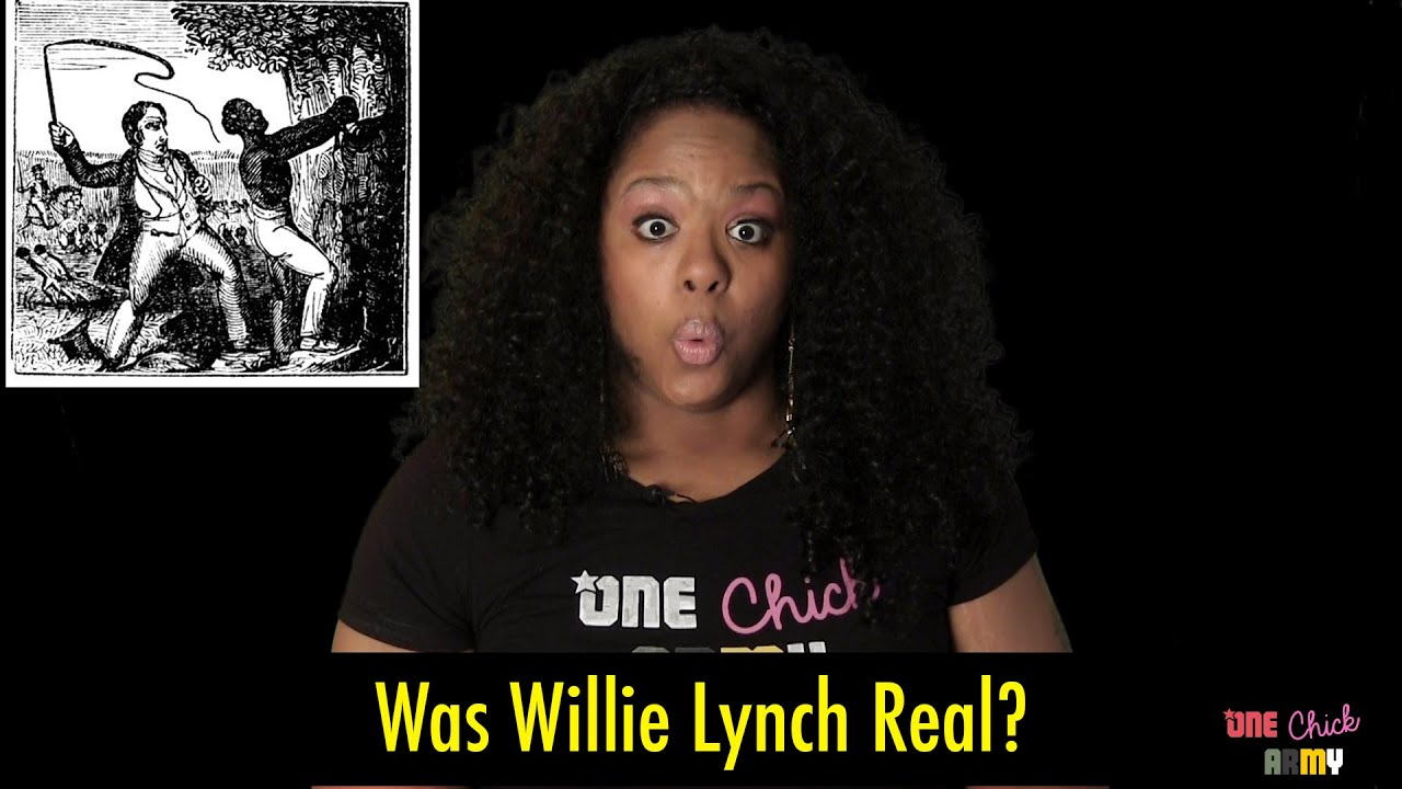 willie lynch theory The william lynch speech is an address purportedly delivered by a certain william lynch (or willie lynch ) to an audience on the bank of the james river in virginia in 1712 regarding control of slaves.