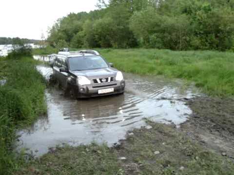 х трейл видео по грязи