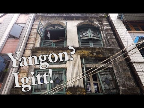Gold, Dreck und Gestank in Yangon | Myanmar | Weltreise Vlog #42