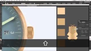 illustrator tutorial: adding realism to vector clock