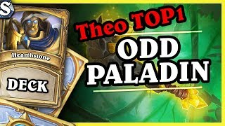 THEO TOP1 LEGEND - ODD PALADIN - Hearthstone Deck Std (Witchwood)