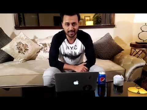 Atif Aslam Facebook live 2017 Answering questions | Atif Aslam New Video