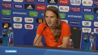 """Vivianne Miedema hoopt weer op een """"Dutch party"""" bij halve finale in Lyon"""