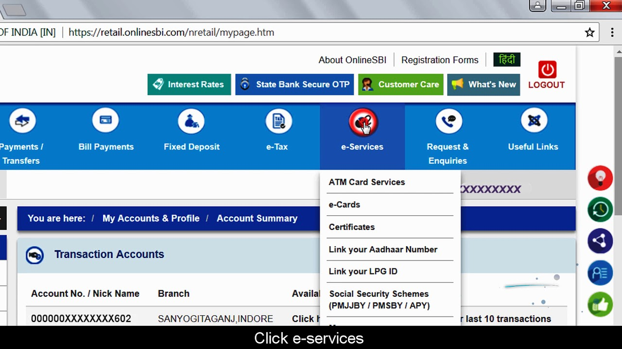 how to transfer money from bank of india to sbi online