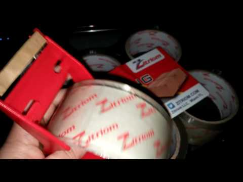 Packing Tape With Dispenser Product Review