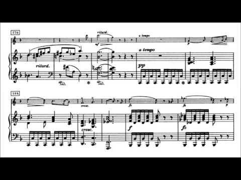 Edvard Grieg - Violin Sonata No. 1, Op. 8 [With score]