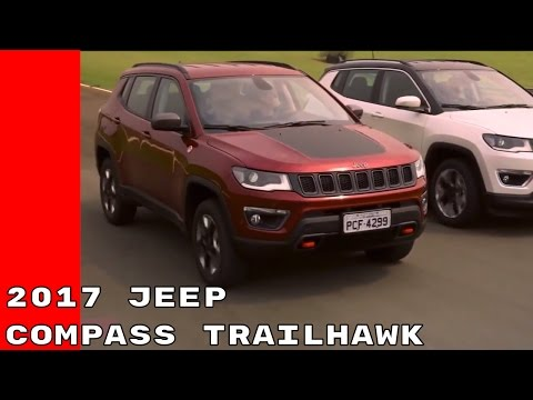 New 2017 Jeep Compass Trailhawk Revealed