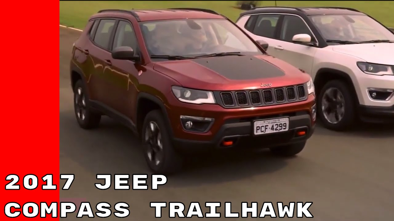 new 2017 jeep compass trailhawk revealed youtube. Black Bedroom Furniture Sets. Home Design Ideas