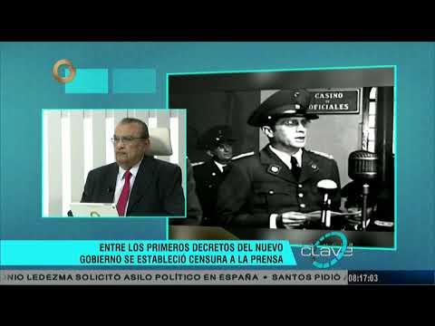 Hora Clave: Caída de Rómulo Gallegos (Parte 1/2)