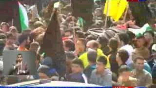 تقرير اصابة 8 شبان برصاص الاحتلال الصهيوني شمال الخليل حلقة 18 12 2015 عبر قناة وطن الكرامة  xmp xmp
