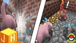 왕따를 당한 파이리가 화가나 리자드로 진화를..?! [포켓몬 스쿨] 마인크래프트 Minecraft [진호]