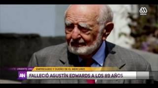 Mega - EXTRA - Murió Agustín Edwards
