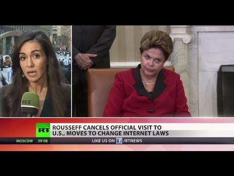 Digitally Offended: Brazil president cancels US visit over NSA scandal