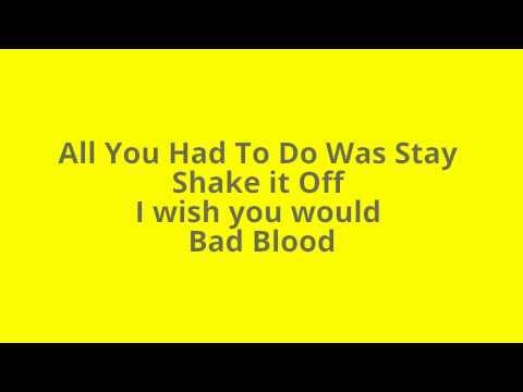 Taylor Swift 1989 Album Song List
