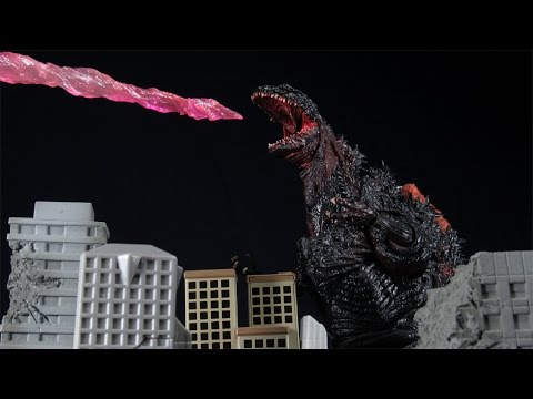 SH MonsterArts Shin Godzilla 2016 Bandai Tamashii Nation Action Figure Review