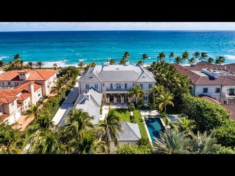 Stunning New Oceanfront Estate -- Lifestyle Production Group