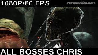 Resident Evil 6 - Chris And Piers All Bosses and Ending (With Cutscenes)