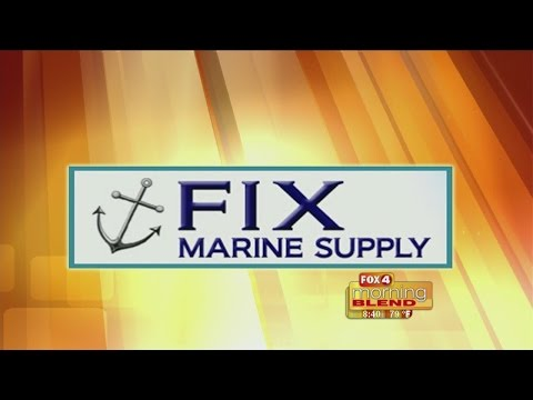 Marine Minute - Fix Marine Supply: How to maintain your boat lift 07/06/2015