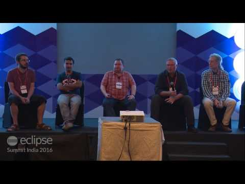 Keynote: Q & A with the Eclipse Committee by Pradeep, Benjamin, Mike, Daniel & Stephan
