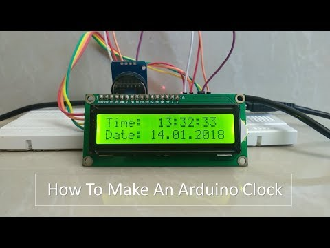 How To Make Arduino Clock Using DS3231 RTC Module