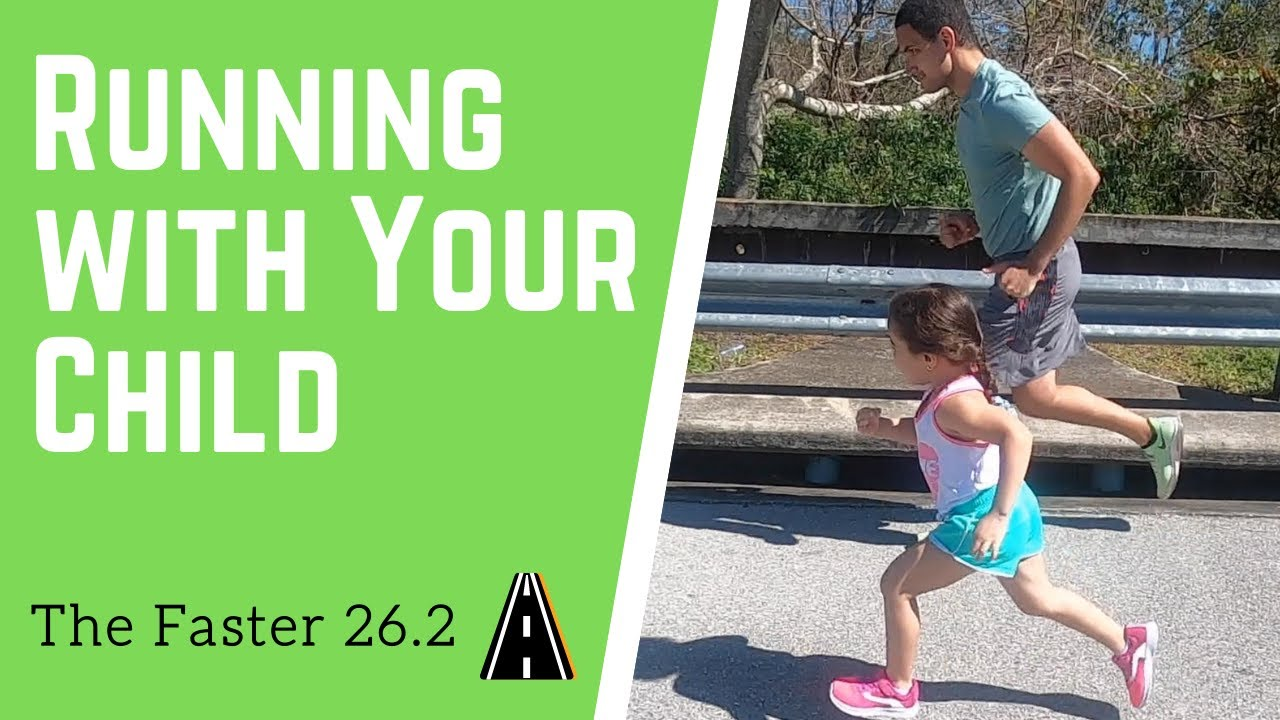 Encouragement: Running with your child - YouTube