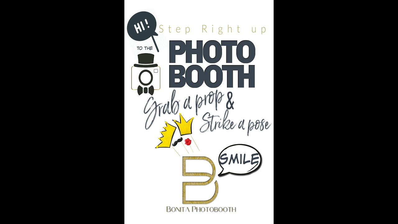 Bonita Photobooth, making your event stand out from the rest!!