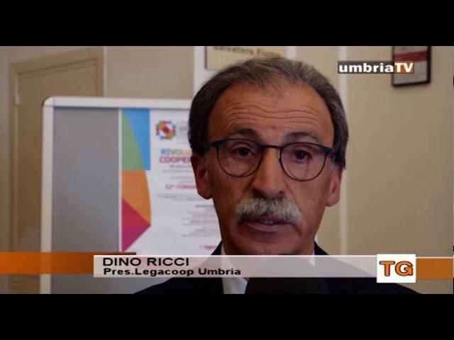 Cresce il peso della cooperazione sull'economia regionale Umbra servizio umbriaTV