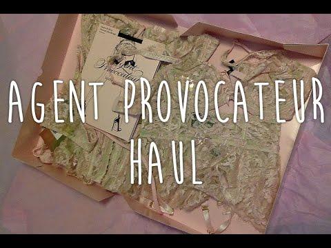 Agent Provocateur Haul -- Unboxing, Reaction, Review