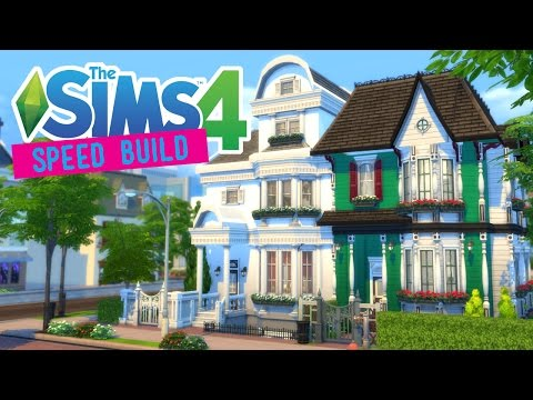 The Sims 4 -Speed Build- VICTORIAN APARTMENTS! (Collab w/ Sekyria) - No CC -