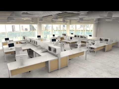 Modern Workstations - Modular Office Furniture