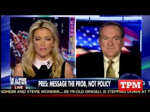 Megyn Kelly Literally F*cks Up Mike Huckabee's Name On Air