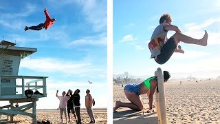 Action Comedy / Best of Pasha Flips / Parkour & Freerunning