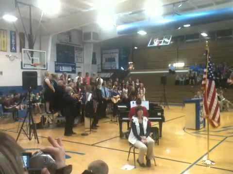 Porta High School honors Vets