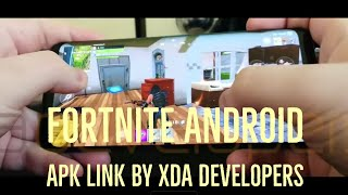 FORTNITE ANDROID DOWNLOAD LINK BY XDA!!!