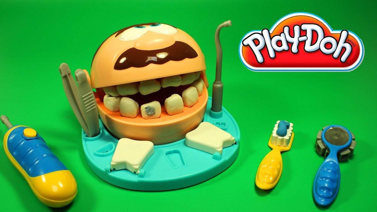 play doh dentist playset playdough by unboxingsurpriseegg. Black Bedroom Furniture Sets. Home Design Ideas