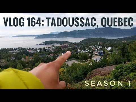 Taking It Slow In Tadoussac, Quebec.