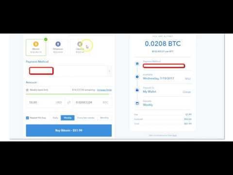 How To Setup A Recurring Ethereum Or Litecoin Purchase On Coinbase | Coinbase Glitch Only Allows BTC