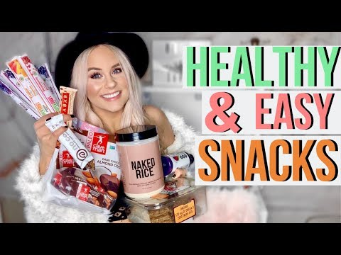 HEALTHY & EASY SNACKS IDEAS FOR ON THE GO | Gluten Free, Dairy Free, Soy Free