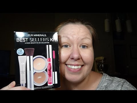 PUR MINERALS BEST SELLERS KIT... WORTH THE PRICE?