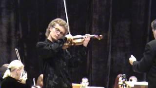 Mozart violin concerto No 5 A Dur (Turkish) K. 219. 2 mvt (Adagio)