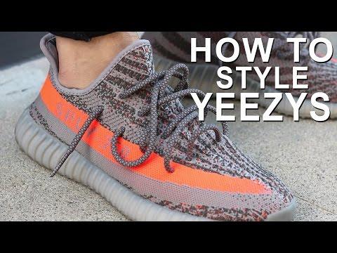 HOW TO WEAR YEEZYS | HOW I STYLE YEEZY BOOST 350's |  Alex Costa