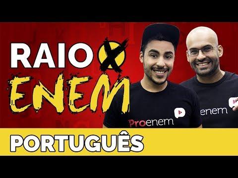 Raio X ENEM: Os temas mais cobrados de Língua Portuguesa - Prof. Romulo Bolivar e Bernardo Augusto