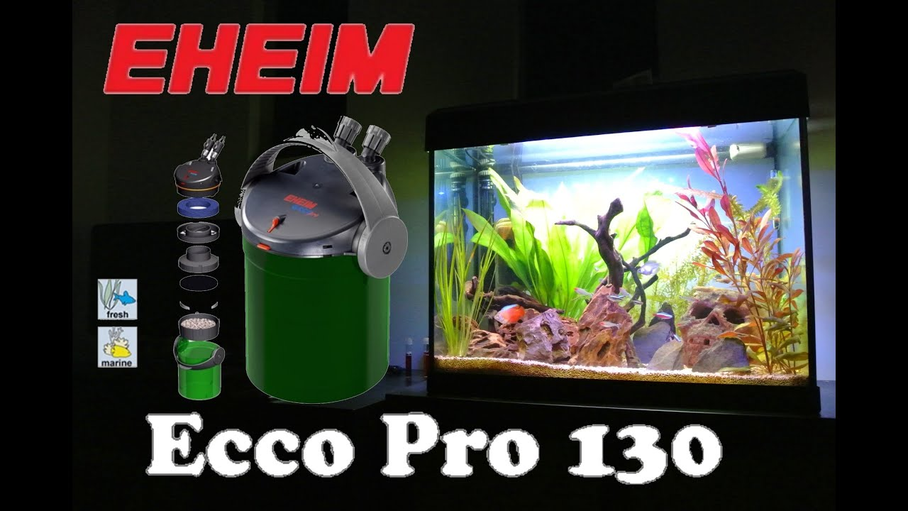 eheim ecco pro 130 2032 overview and biohome ultimate mod youtube. Black Bedroom Furniture Sets. Home Design Ideas