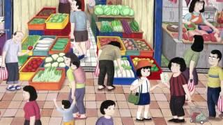 快跟著小女孩君君,展開最有台灣味的「小鎮尋寶之旅」! ☆以精彩的圖繪...