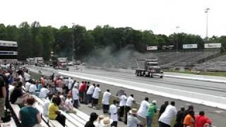 2010 - Big Rig Nats @ MIR Dump Trucks run 18's